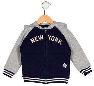 Ralph Lauren Boys' Hooded Appliqué-Accented Jacket