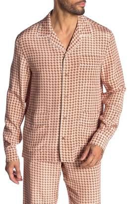 Bally Silk Pajama Shirt