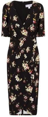 Dorothy Perkins Womens **Paper Dolls Black Wrap Dress
