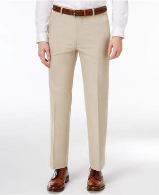 Tommy Hilfiger Men's Modern-Fit Khaki Solid Stretch Performance Pants