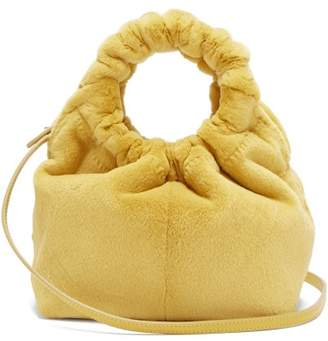 The Row Double Circle Small Mink Bag - Womens - Yellow