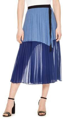 Sandro Mix Media Skirt