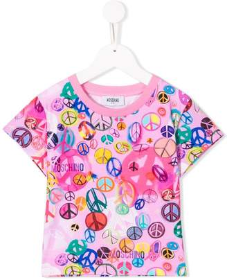 Moschino Kids logo short-sleeve T-shirt