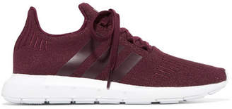 adidas Swift Run Glittered Primeknit Sneakers - Burgundy