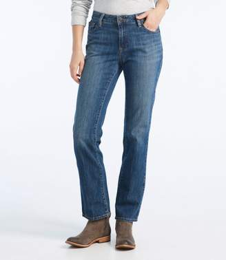 L.L. Bean L.L.Bean 1912 Jeans, Favorite Fit Straight-Leg