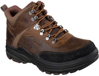 Skechers Brenton Mens Lace-Up Boots