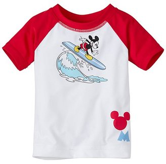 Disney Mickey Mouse Baby Swimmy Rash Guard $30 thestylecure.com