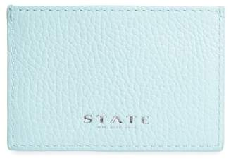 STATE Bags Greenwood Monaco Leather Card Case
