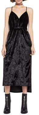 BCBGeneration Draped Midi Dress