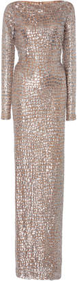 Paillette Gown