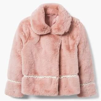Gymboree Faux Fur Jacket