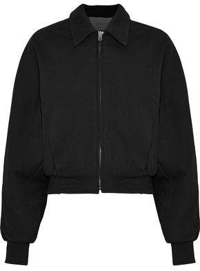 Cédric Charlier Cotton And Wool-Blend Bomber Jacket
