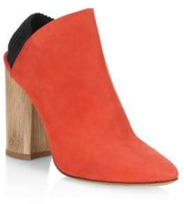 3.1 Phillip Lim (3.1 フィリップ リム) - 3.1 Phillip Lim Drum Suede Slingback Ankle Boots