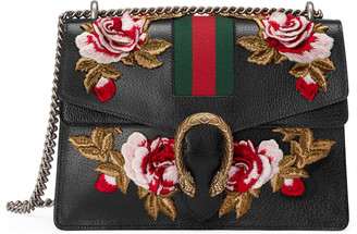 Dionysus embroidered leather shoulder bag $4,200 thestylecure.com