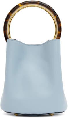 Marni Blue Mini Pannier Bucket Bag