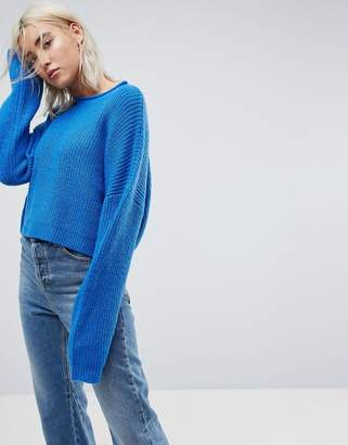 Asos Cropped Oversized Sweater