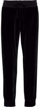 Monrow Velvet Track Pants