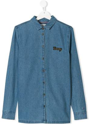 Tommy Hilfiger Junior TEEN denim shirt