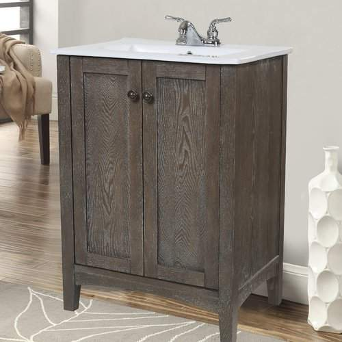 "Andover Mills Miltonsburg 24"" Single Bathroom Vanity Set Base"