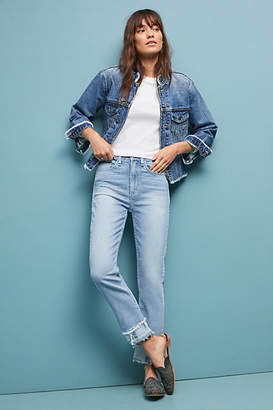 McGuire Denim High-Rise Vintage Slim Jeans