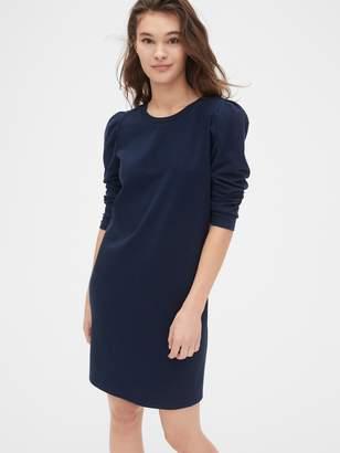 Gap Puff Sleeve T-Shirt Dress