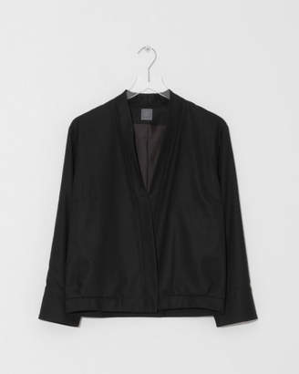 Grei Cropped Crossover Jacket
