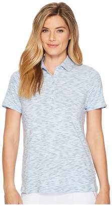 Skechers Performance GO GOLF Space Dye Polo Women's Clothing