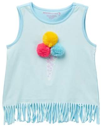Design History Ice Cream Top (Toddlers & Little Girls)