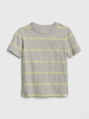 Gap Graphic Stripe Short Sleeve T-Shirt