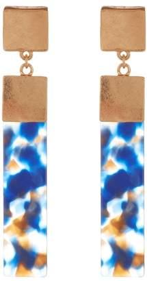 Olivia Welles Abby Multi-Color Drop Earrings