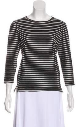Current/Elliott Stripes Long Sleeve Top