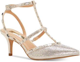 Inc International Concepts Carma Evening Kitten Heel Pumps Women's Shoes $99.50 thestylecure.com