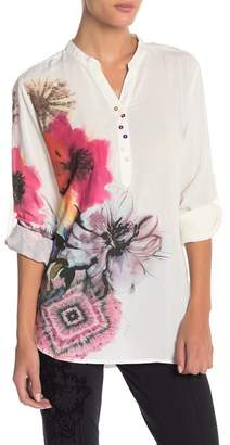 Desigual Butterfly Floral Print Blouse