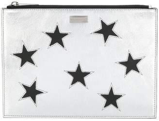 Stella McCartney metallic Star clutch