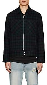 Stampd MEN'S EISENHOWER WOOL-BLEND JACKET - DK. GREEN SIZE S