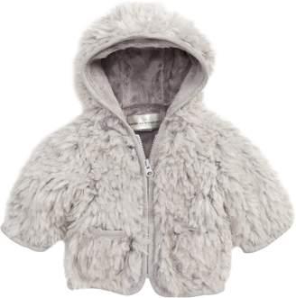 Widgeon Hooded Faux Fur Jacket