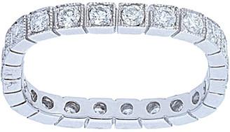 Nephora 14K 0.84 Ct. Tw. Diamond Square Shape Milgrain Ring