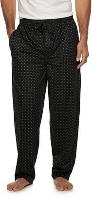 Van Heusen Men's Plaid Silky Fleece Sleep Pants