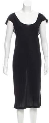 Dolce & Gabbana Drape-Accented Midi Dress