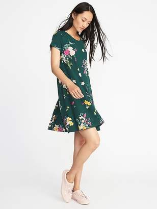 Old Navy Jersey-Knit Swing Dress for Women