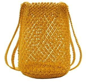 MANGO Braided net bag