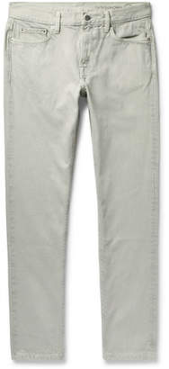 Outerknown Drifter Slim-Fit Garment-Dyed Organic Denim Jeans