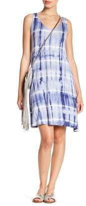 Como Vintage Strappy Tie-Dye Dress (Petite)