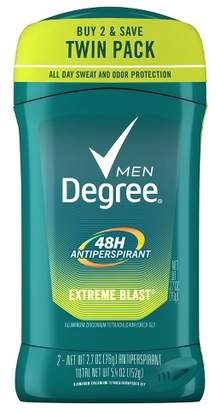 Degree Men Extreme Blast Antiperspirant and Deodorant Twin Pack - 2.7oz