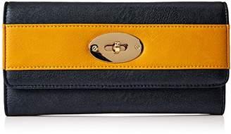 Henley Womens Elsa wallet NAVY/OCHRE
