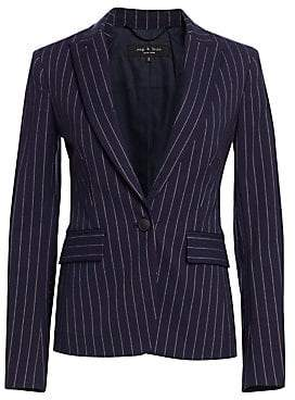 Rag & Bone Women's Lexington Pinstripe Blazer