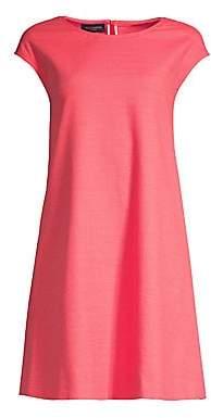 Piazza Sempione Women's Cap Sleeve A-Line Dress