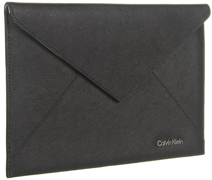 Calvin Klein Clutch (Black) - Bags and Luggage