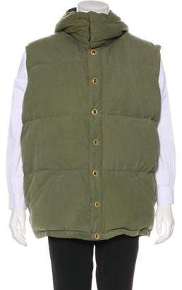 Freecity Free City Goose Down Quilted Puffer Vest
