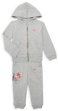 Little Girl's Three-Piece Bodysuit Set